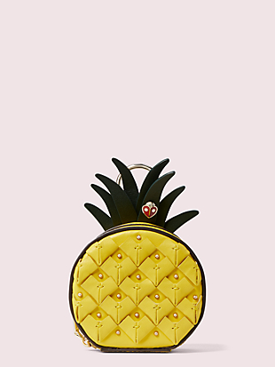 picnic pineapple coin purse by kate spade new york non-hover view