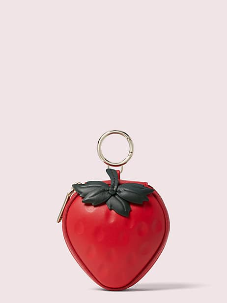 picnic strawberry coin purse by kate spade new york