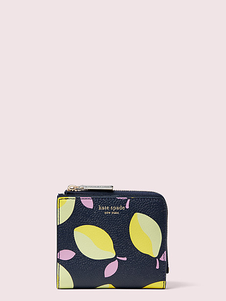 margaux lemons small bifold wallet by kate spade new york
