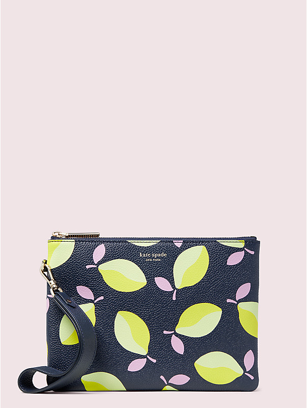 margaux lemons small pouch wristlet, , rr_large