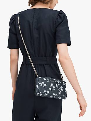 margaux dandelion floral east west crossbody by kate spade new york hover view