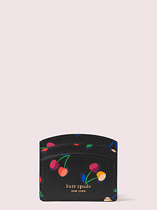 spencer cherries cardholder by kate spade new york non-hover view