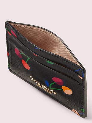 spencer cherries cardholder by kate spade new york hover view