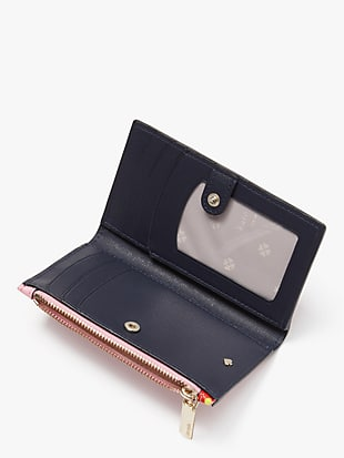 spencer cherries small slim bifold wallet by kate spade new york hover view