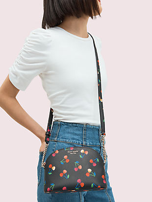spencer cherries small dome crossbody by kate spade new york hover view