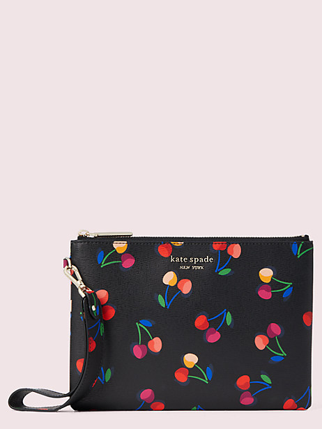 spencer cherries small pouch wristlet by kate spade new york