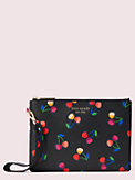 spencer cherries small pouch wristlet, , s7productThumbnail