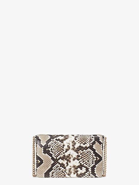 spencer python-embossed chain wallet by kate spade new york