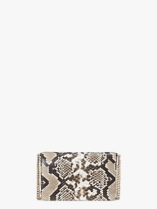 spencer python-embossed chain wallet by kate spade new york non-hover view