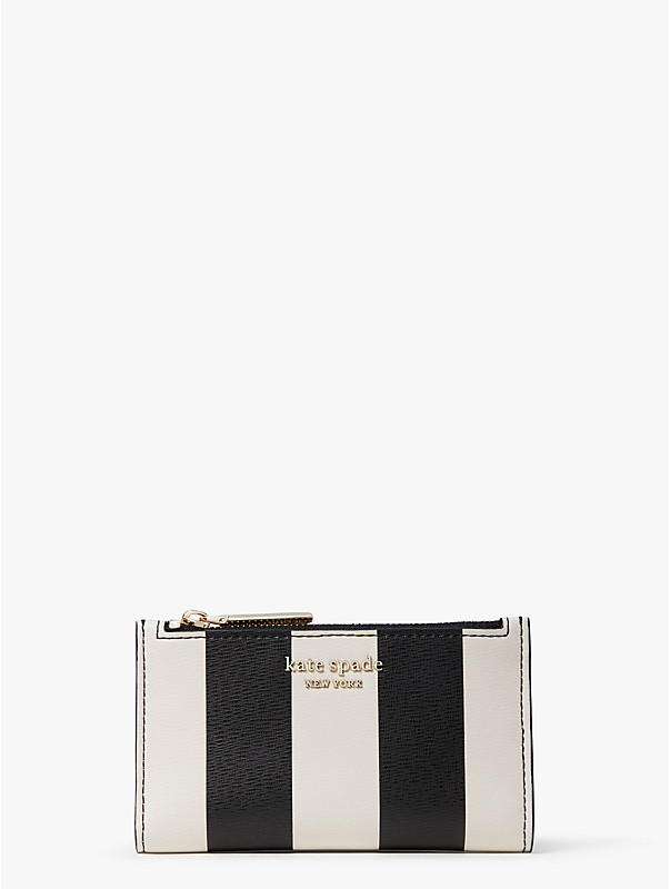 spencer stripe small slim bifold wallet, , rr_large