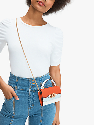 toujours stripe top-handle crossbody by kate spade new york hover view
