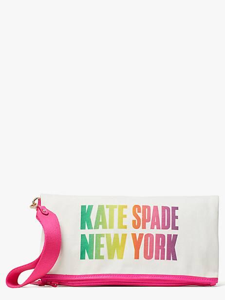 ksny foldover pouch by kate spade new york