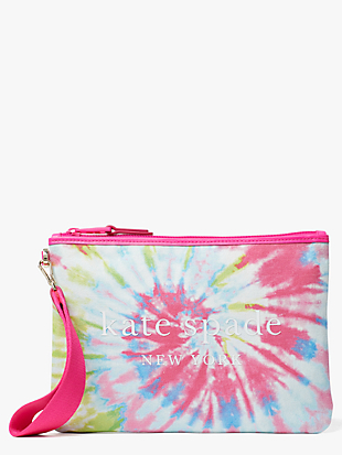 tie-dye pouch by kate spade new york non-hover view