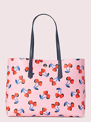 molly cherries large tote by kate spade new york non-hover view