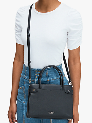 classic medium satchel by kate spade new york hover view