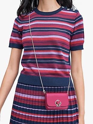 nicola twistlock micro crossbody by kate spade new york hover view