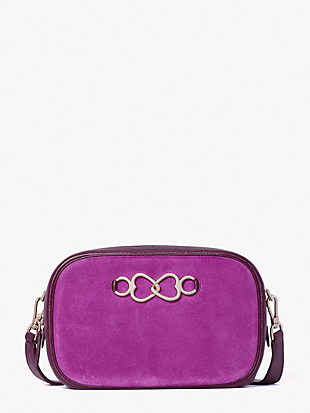 infinite suede medium camera bag by kate spade new york non-hover view