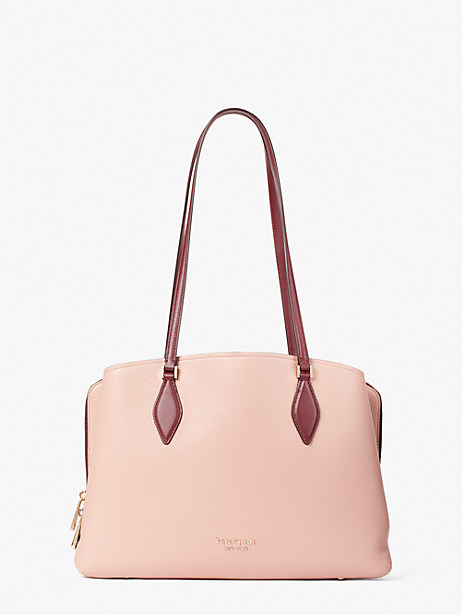 zeezee large work tote, faded anemone multi, large by kate spade new york