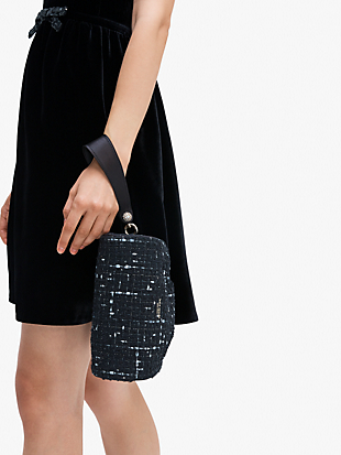 party tweed clutch by kate spade new york hover view