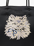 everything puffy cat large tote, , s7productThumbnail