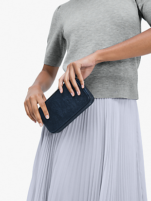 tonight metallic clutch by kate spade new york hover view