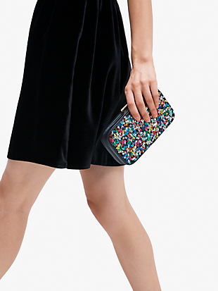 tonight sequins clutch by kate spade new york hover view