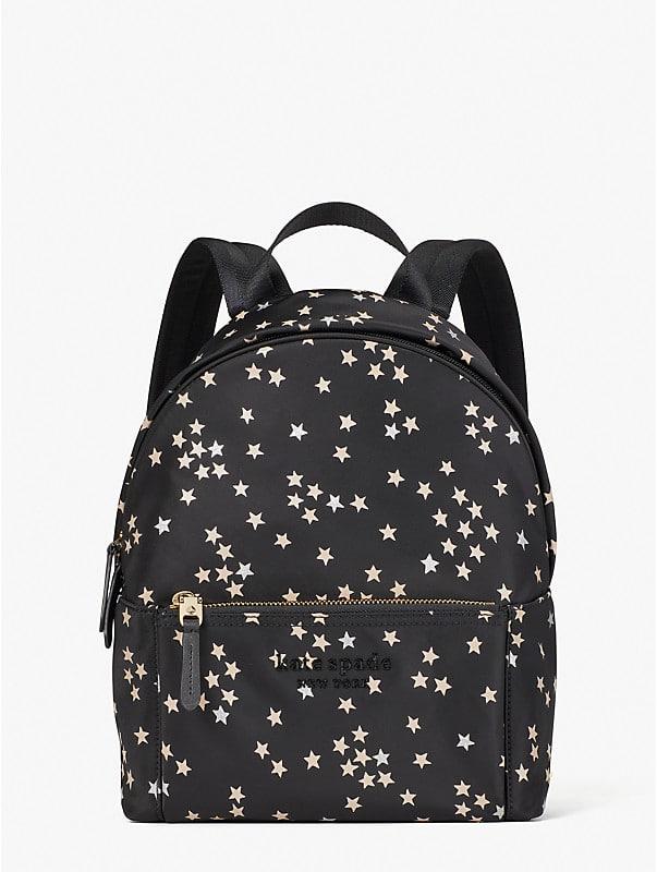 nylon city pack confetti stars medium backpack, , rr_large