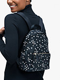 nylon city pack confetti stars medium backpack, , s7productThumbnail