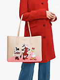 disney x kate spade new york clarabelle & friends large tote, , s7productThumbnail