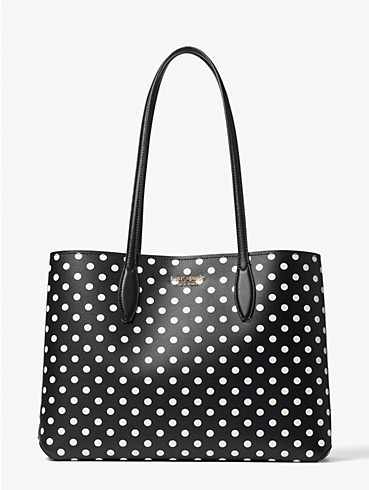 all day domino dot large tote, , rr_productgrid