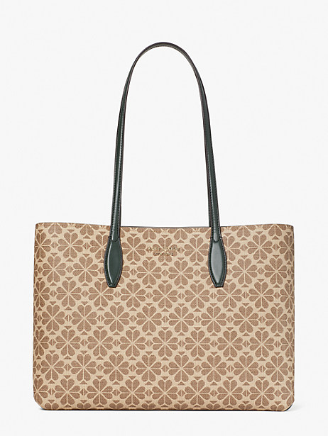 spade flower coated canvas all day large tote by kate spade new york