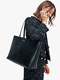 molly large zip-top work tote, , s7productThumbnail