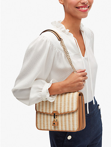 locket straw large flap shoulder bag, , rr_productgrid