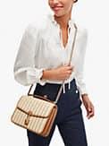 locket straw large flap shoulder bag, , s7productThumbnail