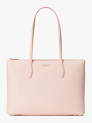 all day large zip-top tote by kate spade new york non-hover view