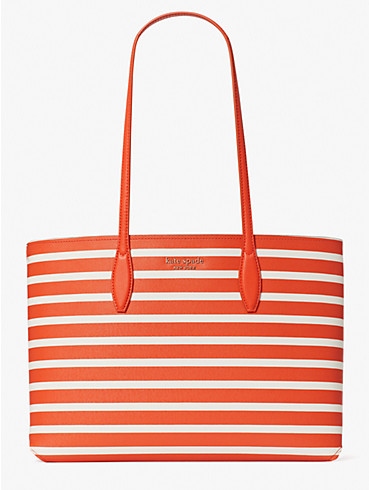 all day sailing stripe large tote, , rr_productgrid