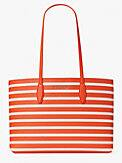 all day sailing stripe large tote, , s7productThumbnail