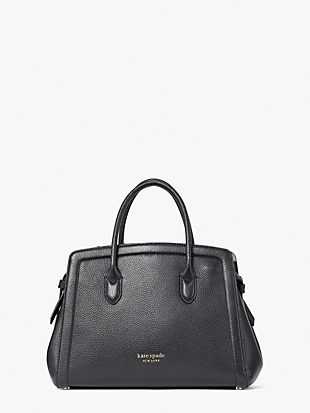 knott medium satchel by kate spade new york non-hover view