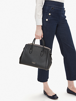 knott large satchel by kate spade new york hover view