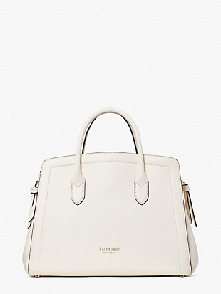knott large satchel by kate spade new york non-hover view