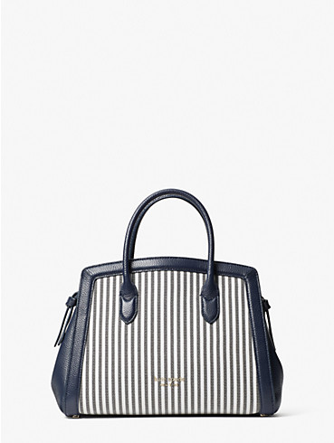 knott stripe medium satchel, , rr_productgrid