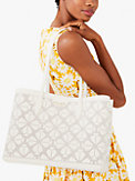 all day perforated large tote, , s7productThumbnail