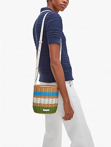 buoy wicker medium bucket bag, , rr_productgrid