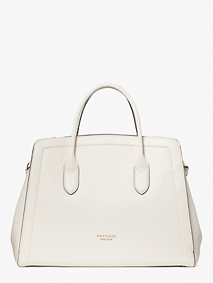 knott extra-large satchel by kate spade new york non-hover view
