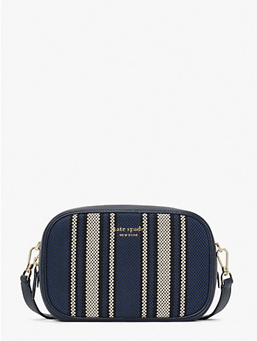 astrid canvas stripe medium camera bag, , rr_productgrid