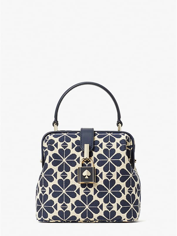 spade flower jacquard remedy small top-handle bag, , rr_large