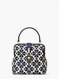 spade flower jacquard remedy small top-handle bag, , s7productThumbnail