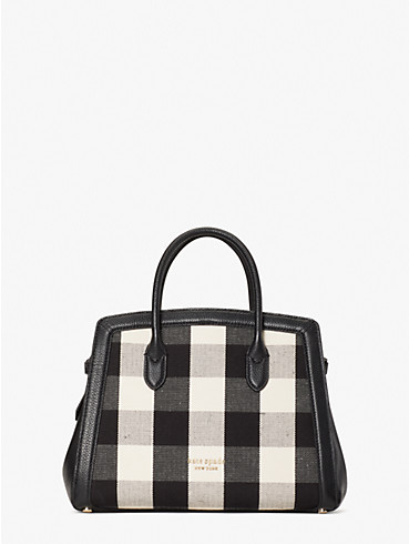 knott gingham medium satchel, , rr_productgrid