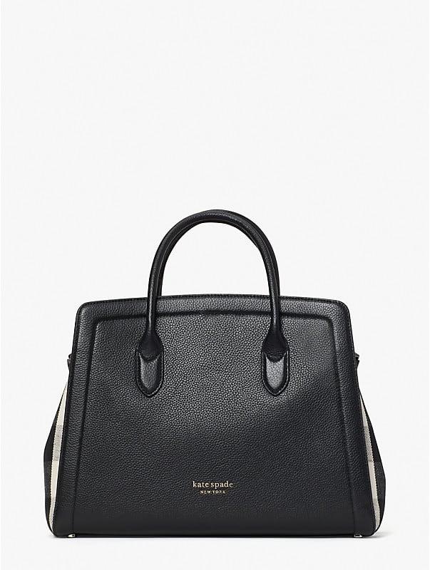 knott gingham large satchel, , rr_large