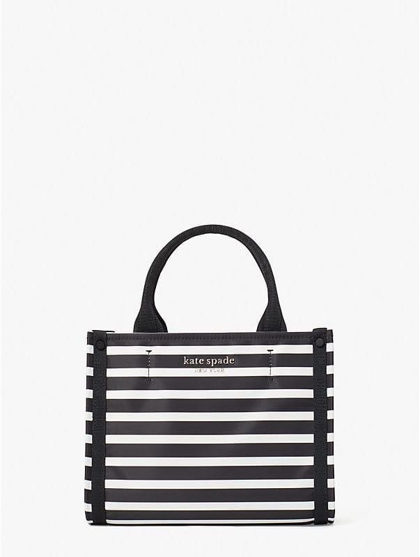 The Little Better Original Bag Tote Bag mit Streifen, extraklein, , rr_large